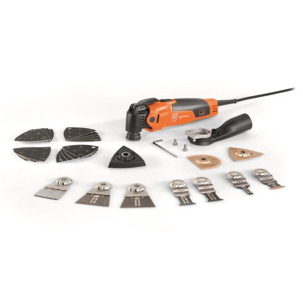 Multiverktyg Fein MultiMaster MM 500 Plus Top med tillbehör, 350 W