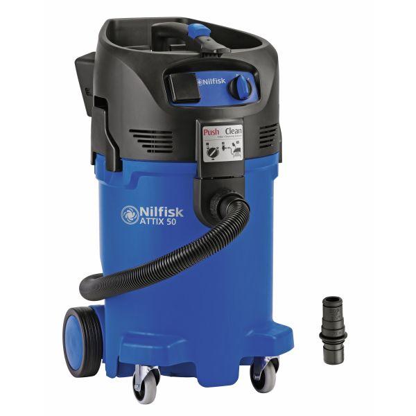 Våt- og tørr Støvsuger Nilfisk ATTIX 50-21 PC CLEAN ROOM