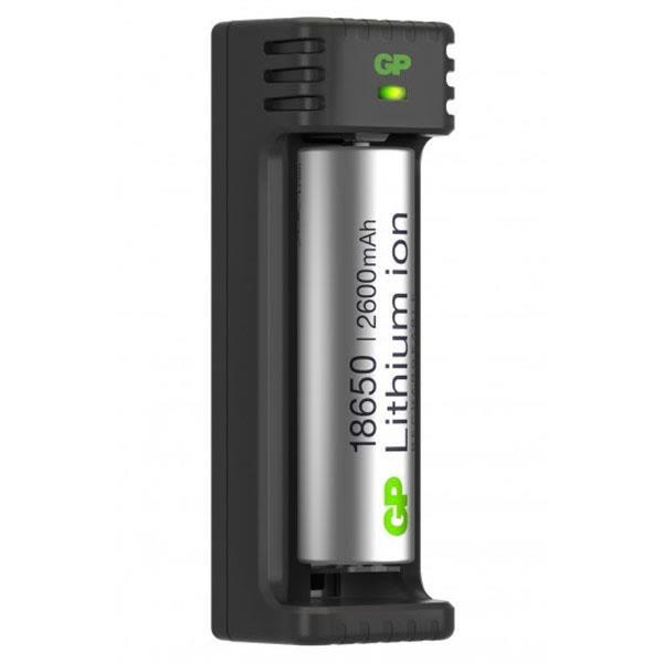 Batteriladdare GP Batteries 18650 Li-ion 1 kanal