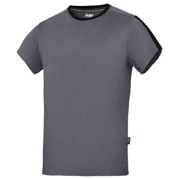 Snickers 2518 AllroundWork T-shirt stålgrå XS