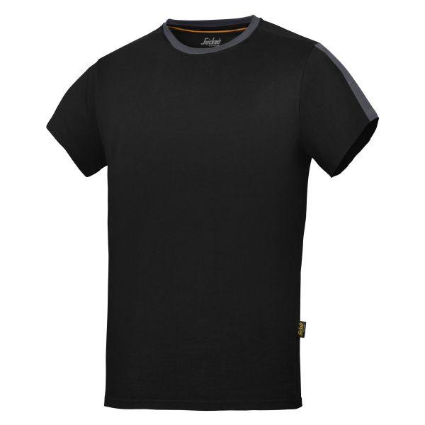Snickers 2518 AllroundWork T-shirt svart XL