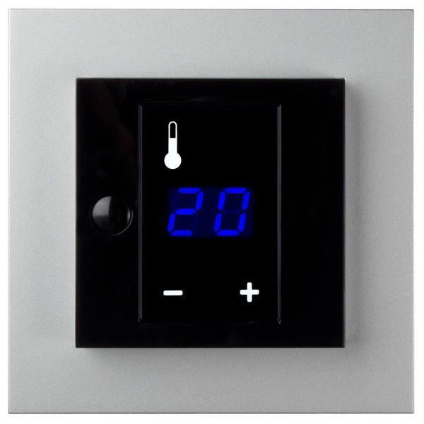 Termostat Elko Plus med display, 3600W Aluminium