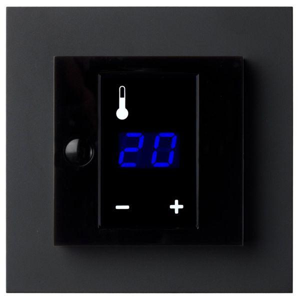 Termostat Elko Plus med display, 3600W Svart