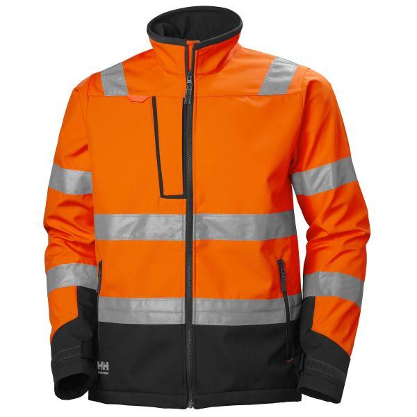 H/H Workwear Alna 2.0 Softshelljacka orange varsel L