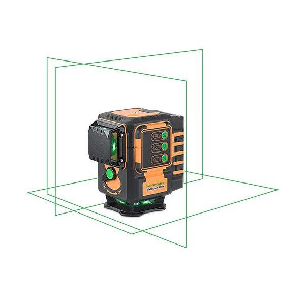 Multikorslaser Geo Fennel Geo 6XR grön, upp till 120 m