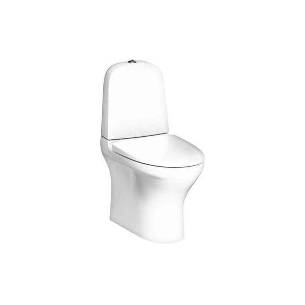 Toalettstol Gustavsberg Estetic 8300 dubbelspolning, vit