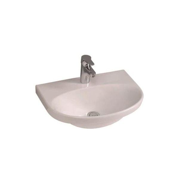 Tvättställ Gustavsberg Nautic 5550 500 x 380 mm, utan bräddavlopp