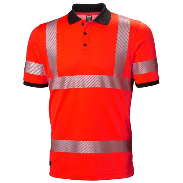 H/H Workwear Lifa Active Pikétröja varsel orange S