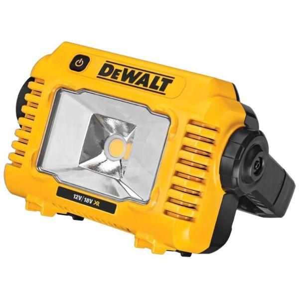 Arbetslampa Dewalt DCL077 utan batterier och laddare