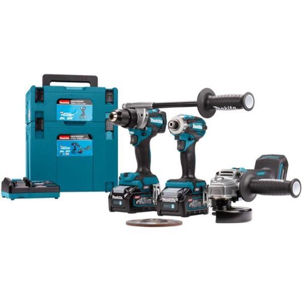 Kombopaket Makita DK0125G301 3 st. verktyg