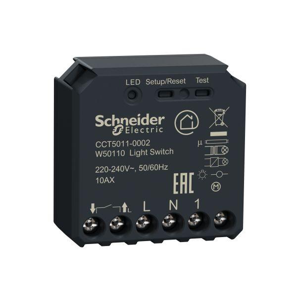 Strömställarpuck Schneider Electric Wiser CCT5011-0002 med Zigbee