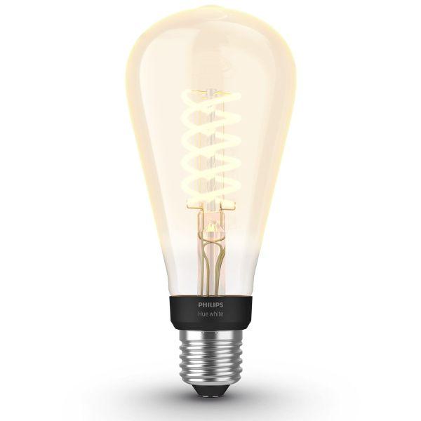 LED-lampe Philips Hue White 7 W, ST72, E27