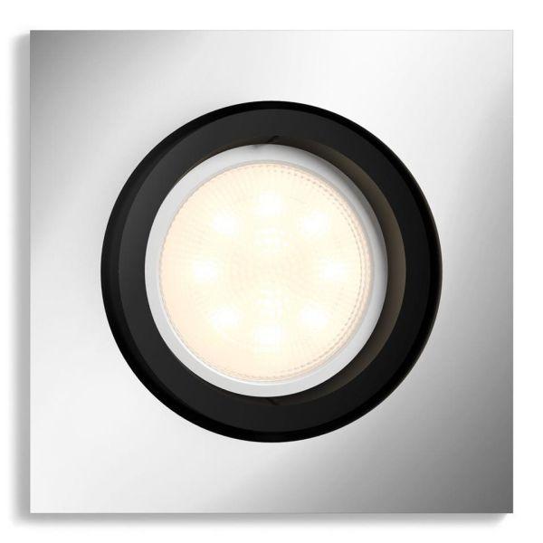 Kohdevalaisin Philips Hue White Ambiance Milliskin 5W LED, 350 lm, GU10 Alumiini