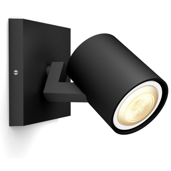 Spotlight Philips Hue Runner 5 W LED, IP20 Svart