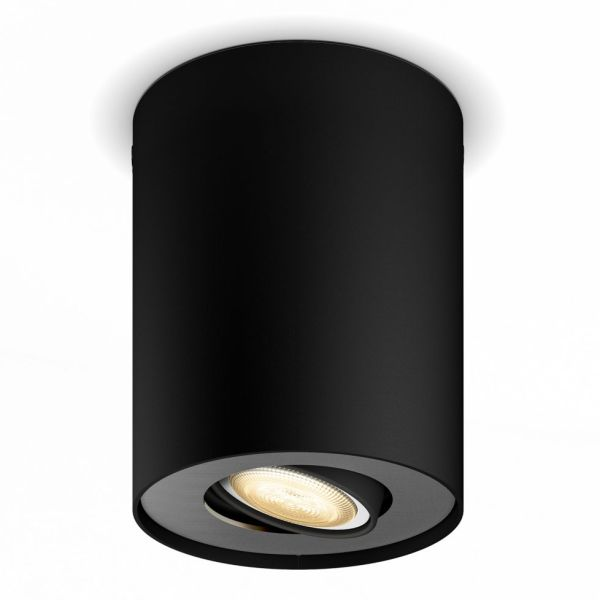 Spotlight Philips Hue Pillar 5 W LED, GU10 Svart