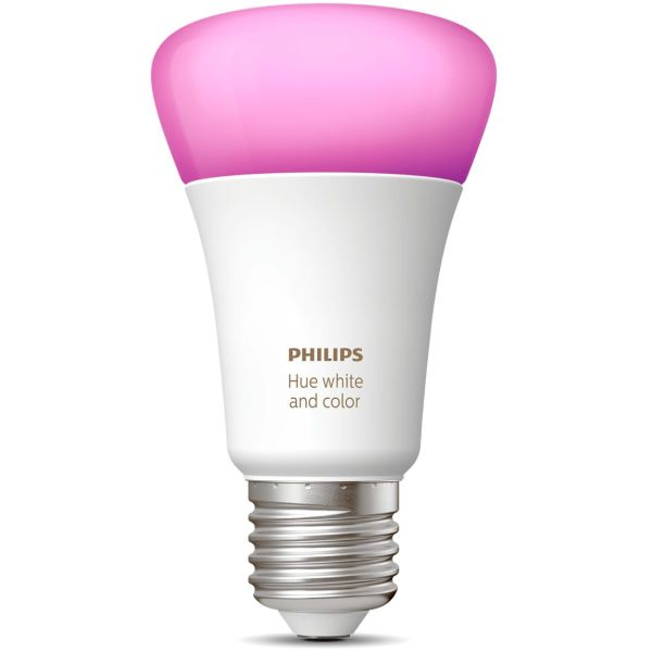 LED-lampe Philips Hue White and Color Ambiance 9 W, E27, A60