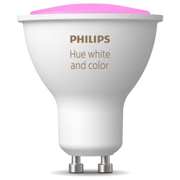 LED-lampe Philips Hue White and Color Ambiance 5.7 W, GU10