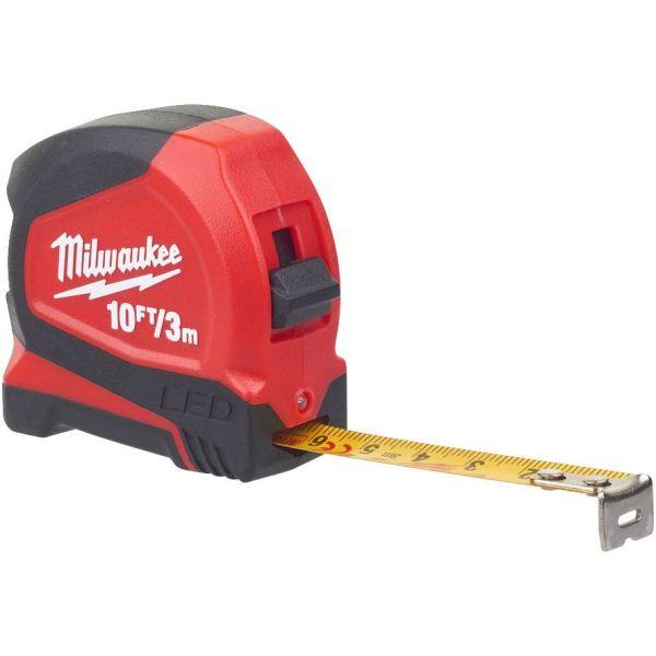 Rullamitta Milwaukee 48226602 LED-valolla