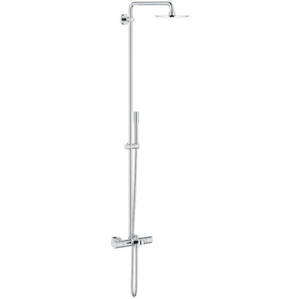 Takdusjsett Grohe Rainshower System 210 med blandebatteri til badekar