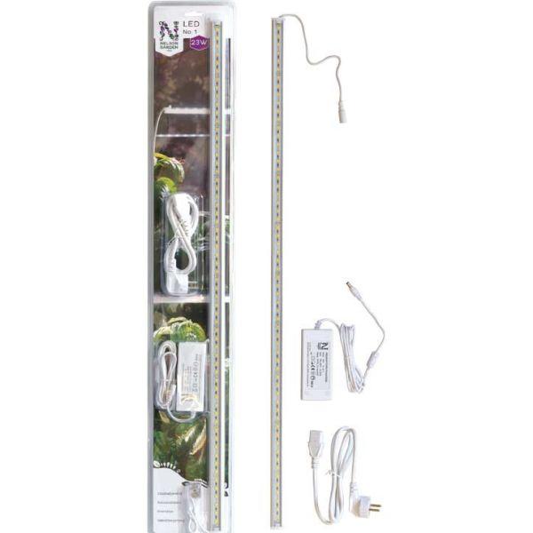 LED-växtbelysning Nelson Garden No.1 23 W, 85 cm, med adapter