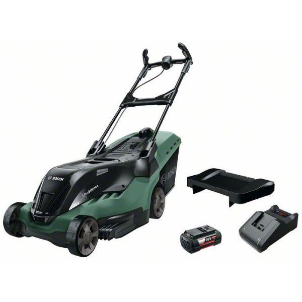 Gräsklippare Bosch DIY Advanced Rotak 36-690 med 4,0Ah batteri och laddare
