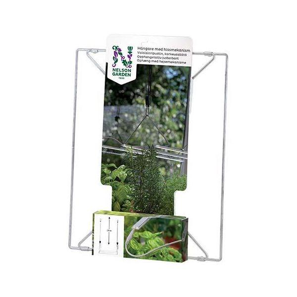 Henger Nelson Garden 5606 for vekstbelysning, med heismekanisme