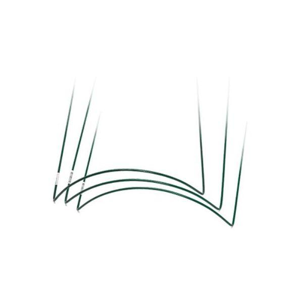 Pensas-/ perennatuki Nelson Garden 6080 metalli, vihreä Korkeus: 35 cm