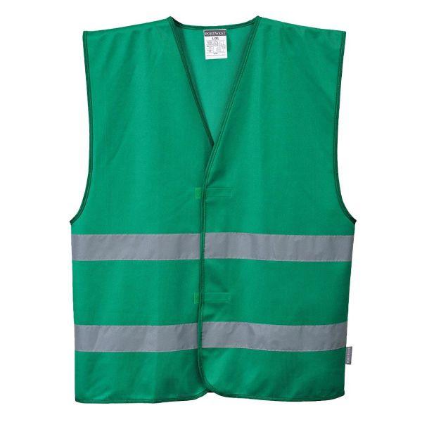 Väst Portwest Iona grön L-XL