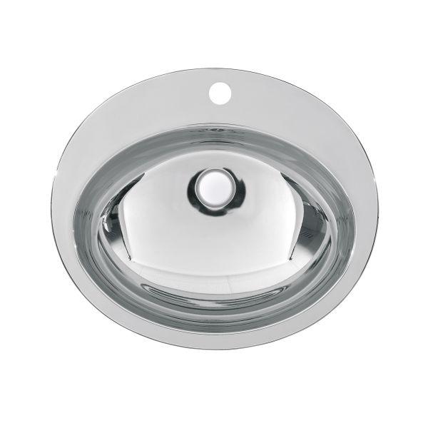 Tvättställ Franke RNDH451-O runt, 529 x 159 x 454 mm