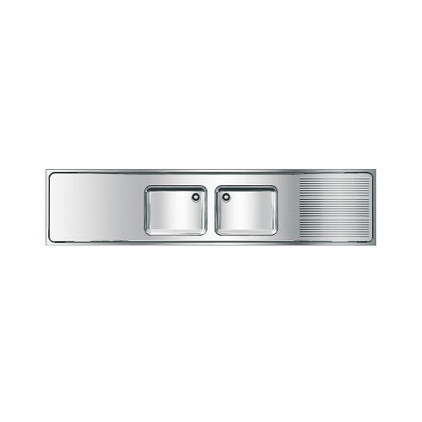 Diskbänk Franke MAXS222-260 260 x 60 cm